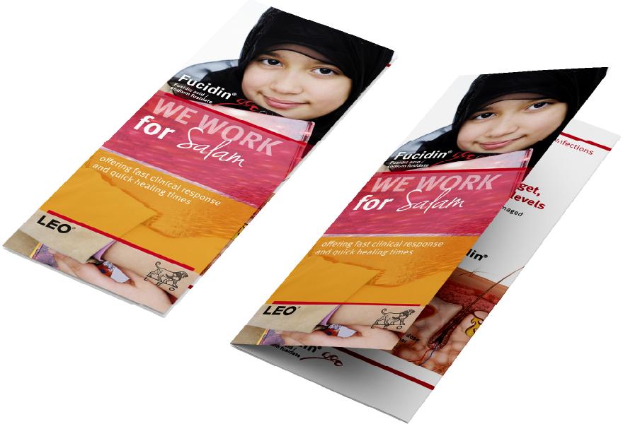 Fucidin/Fucicort Campaign leaflets