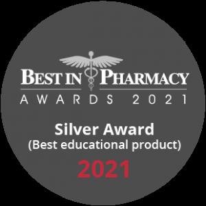 Best in pharmacy silver award 2021